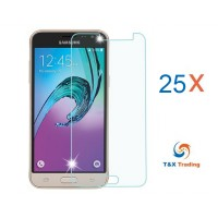 Samsung Galaxy J3 Bulk (25Pcs) Tempered Glass Screen Protector