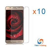Samsung Galaxy J5 (10Pcs) Tempered Glass Screen Protector