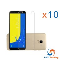 Samsung Galaxy J6 2018 Box (10pcs) Tempered Glass Screen Protector