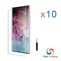 Samsung Galaxy Note 10 - BOX (10Pcs) UV Tempered Glass Screen Protector