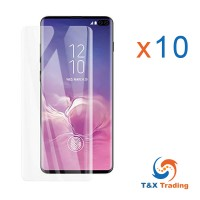 Samsung Galaxy S10 Plus BOX (10Pcs) UV Tempered Glass Screen Protector