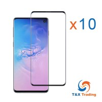 Samsung Galaxy S10 BOX (10Pcs) UV Tempered Glass Screen Protector