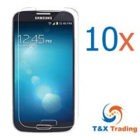 Samsung Galaxy S4 (10Pcs) Tempered Glass Screen Protector