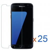 Samsung Galaxy S7 Bulk (25Pcs) Tempered Glass Screen Protector