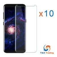 Samsung Galaxy S8 / S9 BOX (10Pcs) UV Tempered Glass Screen Protector