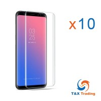 Samsung Galaxy S8 Plus / S9 Plus BOX (10Pcs) UV Tempered Glass Screen Protector
