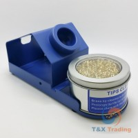 Soldering Iron Tip Cleaner with Brass Wire Sponge