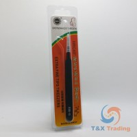 Stainless Steel Tweezers with Extra Fine Tips (ESD-13)