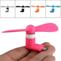 Micro USB Fan (Mixed Colors)