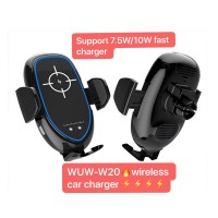 WUW Fast Wireless Electric Car Charger Air Vent WUW-W20