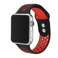 Apple iWatch - Smart Watch Breathable Silicone Sport Band 38mm (Mix Colors)