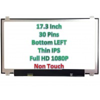 "17.3"" Laptop LCD Screen 1920x1080p 30 Pins with Brackets LP173WF4 (SP) (F6)"