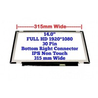 LCD Screen for NV140FHM-N62 30 pins HD 1920X1080