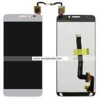 LCD digitizer assembly for Alcatel 6043 6043D idol X+ White