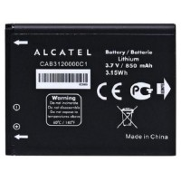 replacement battery CAB3120000C1 Alcatel A392A OT-800 OT-710D