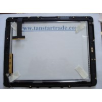 Apple ipad 3G digitizer touch screen with frame home button
