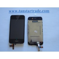 LCD digitizer assembly for iPhone 3G mic home button full assembly