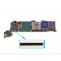 digitizer connector on logic board for iphone 5C 5S