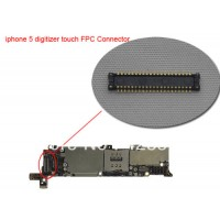 digitizer connector on logic board for iphone 5