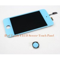 IPOD TOUCH 4 4G LCD TOUCH DIGITIZER SCREEN AND HOME BUTTON
