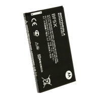 Replacement battery for Motorola BF-5X MB525 MB855 MB520 XT862