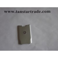 Motorola K1 KRZR battery cover silver