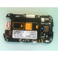 Battery connector for Blackberry 9900 9930