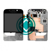 lcd digitizer assembly with frame blackberry Q20 Classic Black