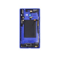Blue full housing back for HTC 8X Zenith C620d C620e