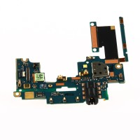 Audio jack mic side button flex for HTC M7 One 801e 801h