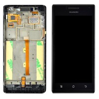 LCD digitizer touch screen assembly for Huawei U9200 Ascend P1
