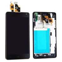 LCD digitizer assembly LG Optimus G E971 E973 E975 with frame