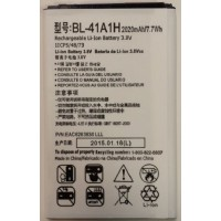 Replacement battery BL-41A1H for LG F60 D393 K200 LS676
