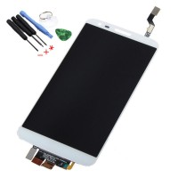 LCD digitizer assembly LG G2 D800 D801 D803 LS980 VS980 F320 white