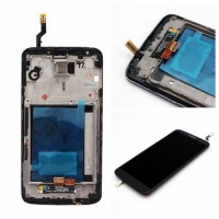 LCD digitizer assembly for LG G2 D801 D802 D805 with frame