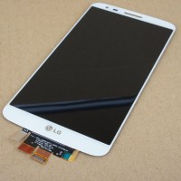 LCD digitizer assembly LG G2 D802 D805 white