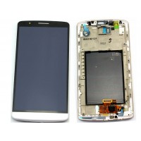 LCD digitizer with frame LG G3 D850 d851 D855 VS985 LS990 WHITE