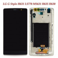 LCD digitizer assembly with frame for LG G4 stylus H631 H635 LS770 G stylo