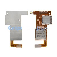 sim connector SD card connector flex for LG K4 K121