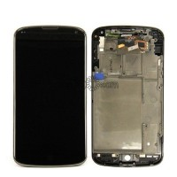 LCD digitizer assembly for LG Nexus 4 E960 with frame