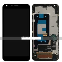 Lcd digitizer assembly With frame BLACK for LG Q6 G6 mini M700