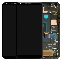 Lcd digitizer assembly With frame BLACK for LG Q7 Q610 Q7 Plus