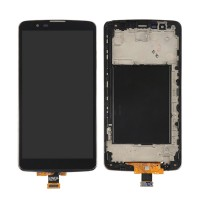 LCD digitizer with frame BLACK LG G Stylo 2 plus MS550 K550