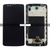 LCD digitizer with frame BLACK LG G Stylo 2 plus LG-K557 Bronze