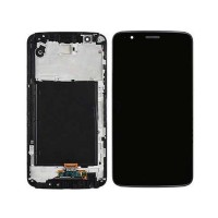 LCD Digitizer with frame LG Stylo 3 Plus LS777 L84VL L83BL BLACK