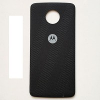 Back cover battery cover for Motorola Moto Z Play XT1635 black