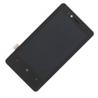 Digitizer LCD display screen assembly for Nokia Lumia 810