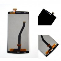 Lcd digitizer assembly with frame for Oneplus one A+ A0001