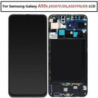 LCD assembly with frame for Samsung Galaxy A50s 2019 A507 A507F