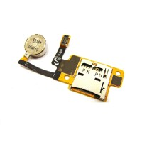 sim connector with vibrator flex for Samsung N5100 Galaxy Note 8